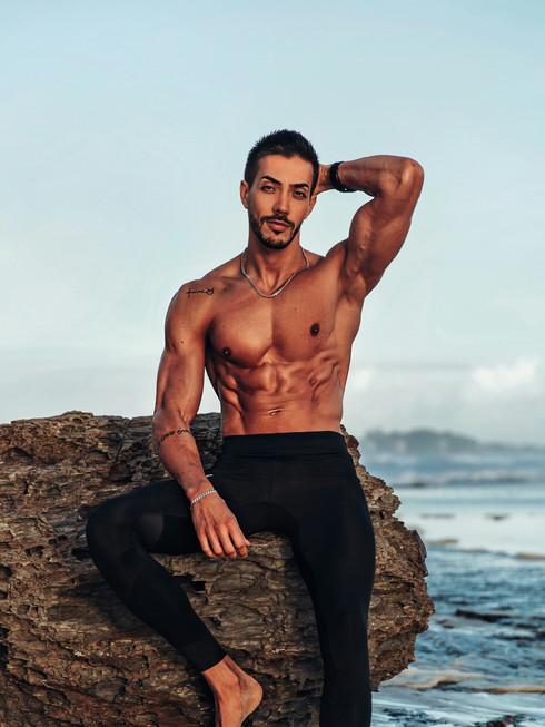 King Arthur Male Topless Waiter Gold Coast