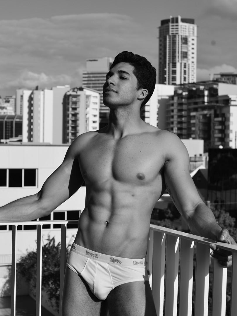 Kelton Male Topless Waiter Brisbane