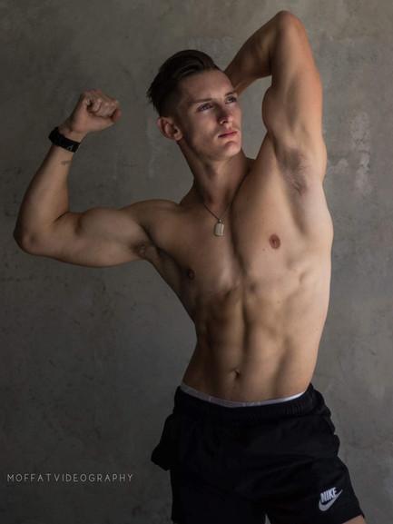 Slick Nic Male Topless Waiter Brisbane