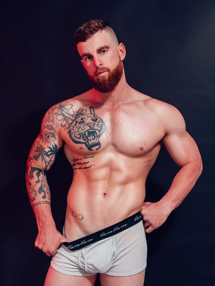 Tyler Male Topless Waiter Brisbane