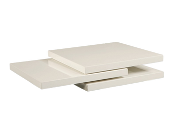 Stackable White Coffee Table $999