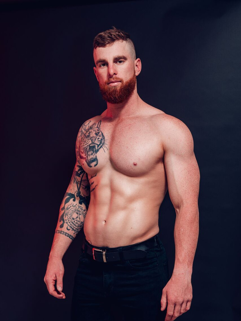 Tyler Male Topless Waiter Brisbane