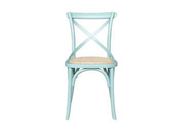 Barista Cross Back Chair Arctic Blue