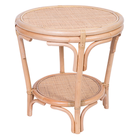Rattan Side Table $329