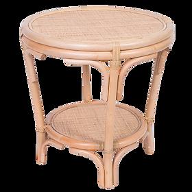 Rattan Side Table $329