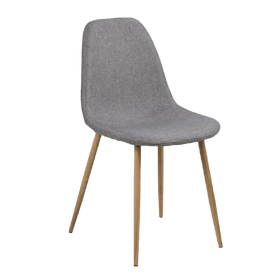 Wesley Dining Chair Light Grey $159