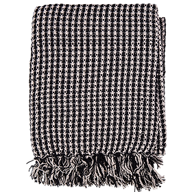 Cotton Throw Black $49