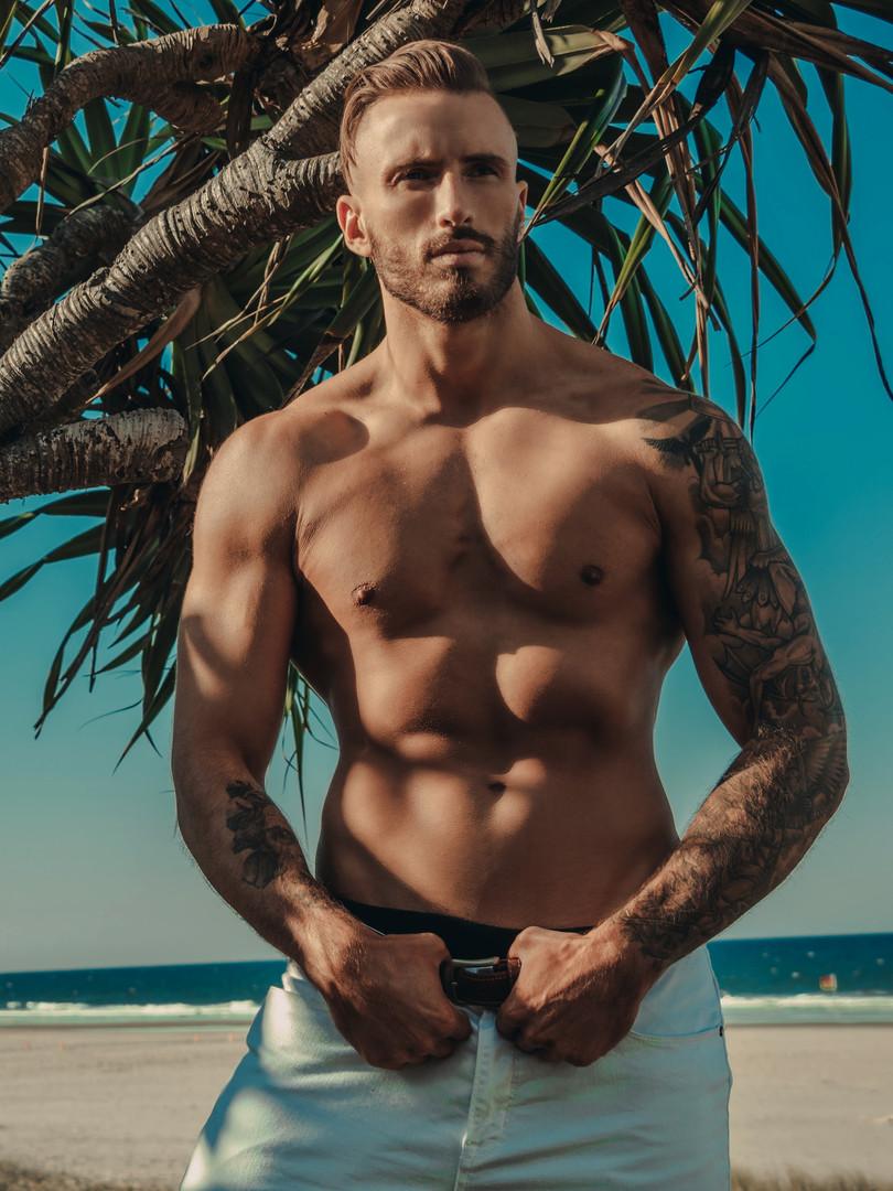 Seamus Male Topless Waiter Brisbane