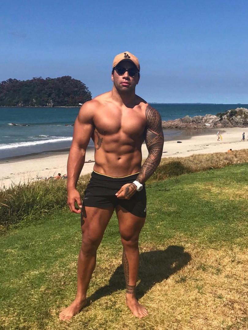 J.T at the beach