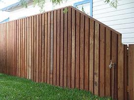 Timber Paling Fencing
