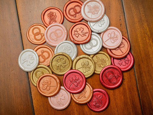 Wedding Stationery Update: Wax Seals
