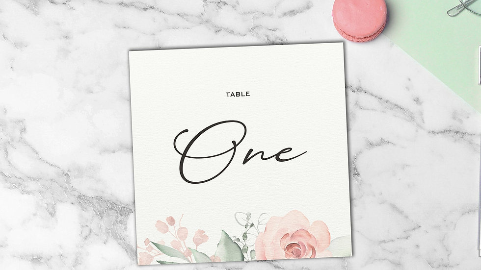 Whimsical Table Name Cards