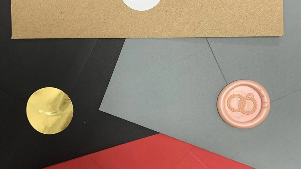 Personalised Stickers - Envelope Seals