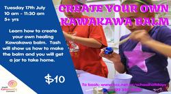 Make Kawakawa Balm - 17 July