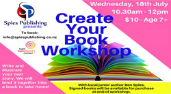 Create your own Book - 18 July