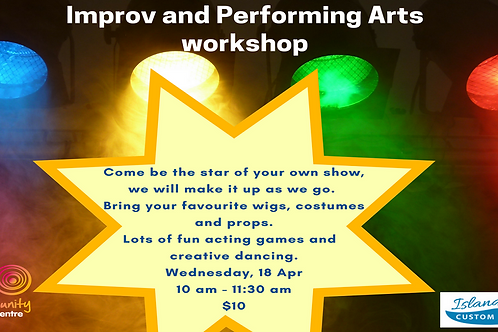 Improv and Performing Arts Workshop