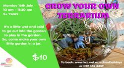 Grow A Terrarium - 16 July