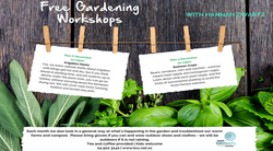 1st Mon/Month - Gardening Workshop