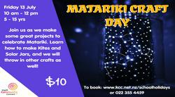 Matariki Craft Day - 13 July