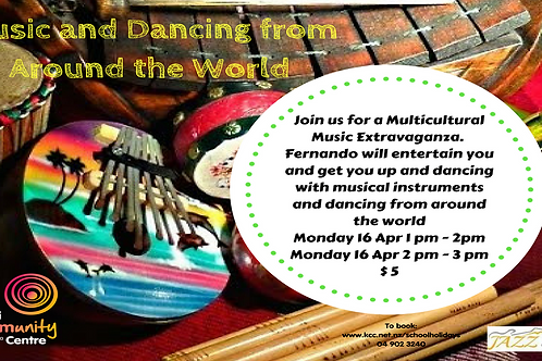 Multicultural Music and Dancing Workshop 2