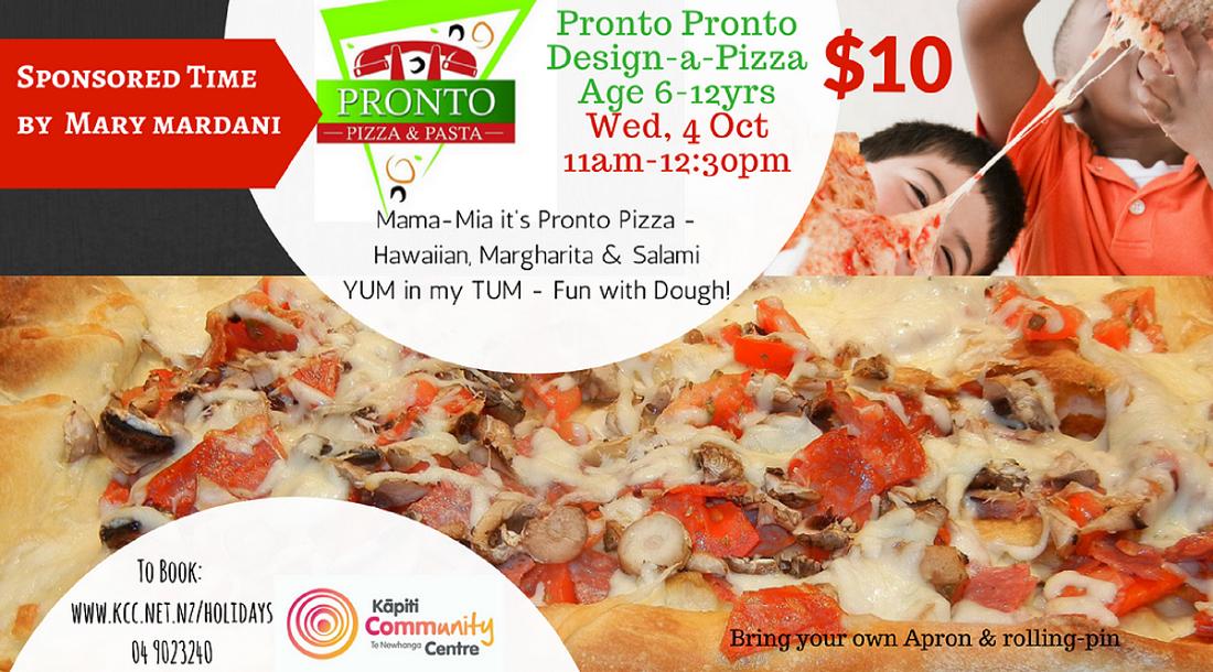 Pronto Pronto Design-a-pizza