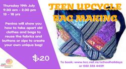 Teen Upcycle Bag Making - 19 July