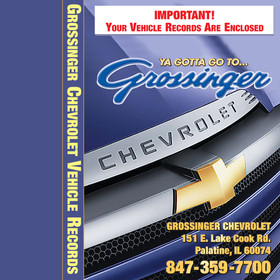 Grossinger Chevrolet vehicle records