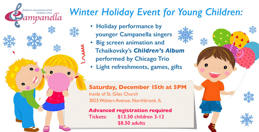 Young Children winter event