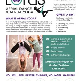 Lotus Aerial Yoga