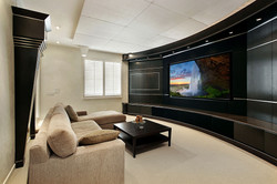 Wide-screen home theater