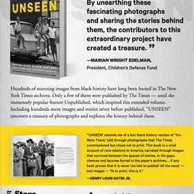 """Unseen"" newspaper ad – 2"