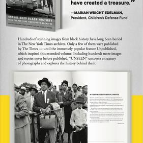 """Unseen"" newspaper ad – 1"