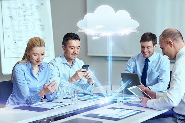 Cloud Rack website at work