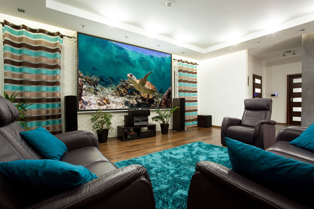 MODERN STYLE HOME THEATER