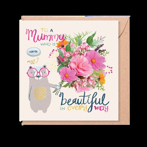 Beautiful Mummy - Magic Bean Card