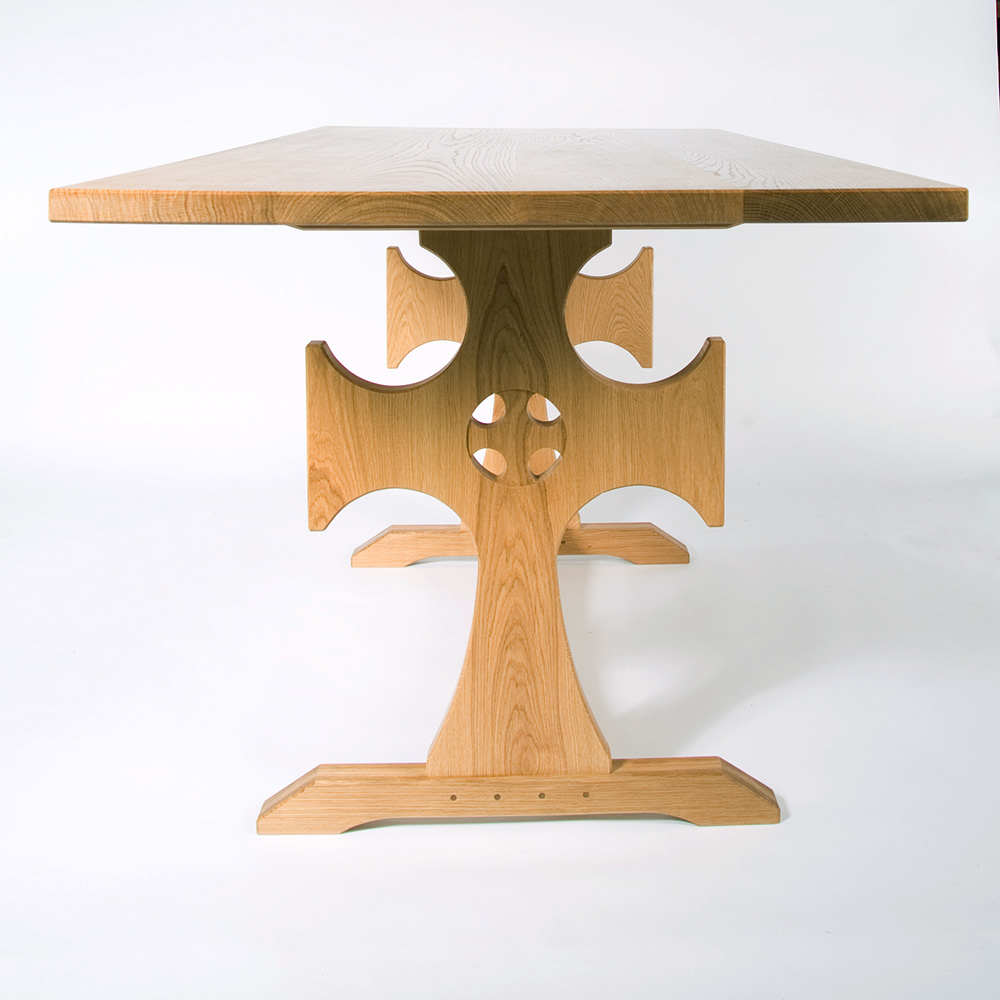 oak communion table