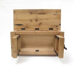 reclaimed oak chest
