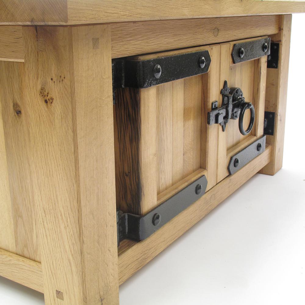 reclaimed oak chest