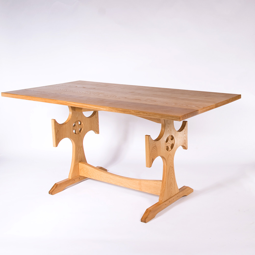 oak communion tabel