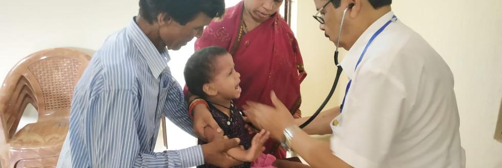 Pediatric Health Screening camps