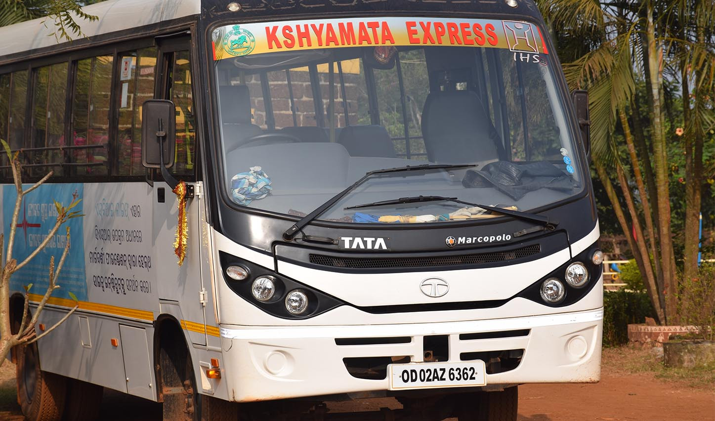 Kshyamata Express - Reaching out the vulnerable