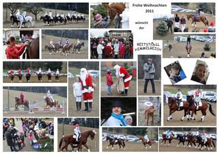 Weihnachtsreiten 2011