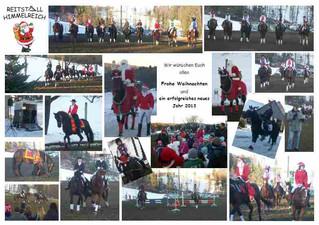 Weihnachtsreiten 2012
