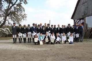 Hufeisen-, Reiterpass-, Reiternadel- und Dressurlizenzprüfung - 16.10.2016  RC Himmelreich
