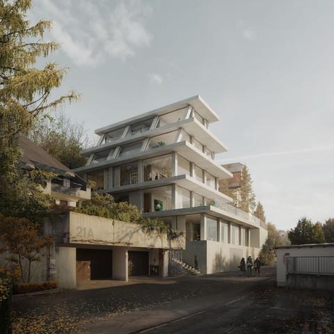 Projekt domu w Stuttgarcie
