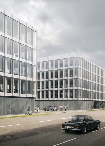 Budynek biurowy w mieście Stuttgart