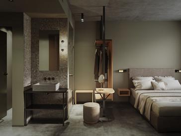 Pokój hotelowy w Monachium