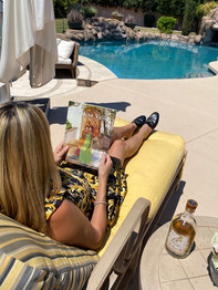 Enjoying the view with the Paradise Valley Magazine.jpg