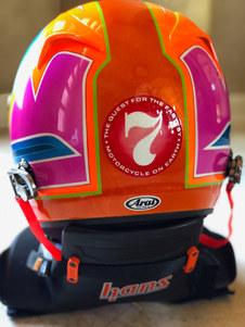 Valerie's BUB 7 Motorcycle Streamliner Helmet
