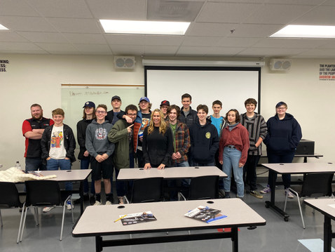 World of Speed Museum talk with the shop kids 2019